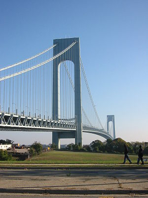 Verrazano-Narrows Bridge – Brooklyn to Staten ...